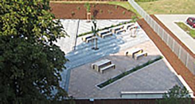 Freianlage Verwaltungsgebäude